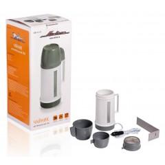 Чайник автомобильный 24В белый/серый пластик, ABK-24-02