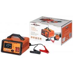 Зарядное устройство 0-10А 6В/12В, амперметр, ручная регулировка зарядного тока, импульсное, ACH-10A-07