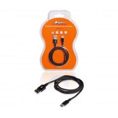 Зарядный универсальный датакабель USB Type-C нейлоновая оплетка, ACH-C-25