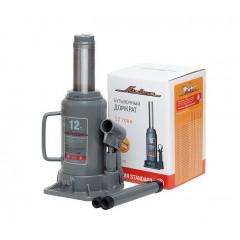 Домкрат бутылочный 12.0т STANDART (MIN-210 мм,MAX-415мм), AJ-В-12S