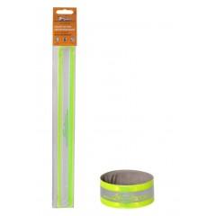 Браслет на руку светоотражающий, 3*30см, зеленый, ARW-B-05
