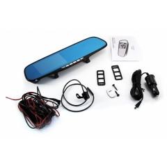 Видеорегистратор RM-16Dзеркало,2 камеры, FHD (1080гр), экран 4,3*, G-сенсор, 6065