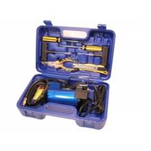 Компрессор в кейсе с набором инструментов, АС 575ма