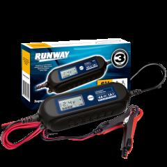 Умное зарядное устройство для аккумуляторов Smart car charger (6/12В, ток 1А/4А), RR105
