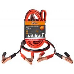 Провода прикуривания 500А (4м, 12/24В) серия STANDART, SA-500-10S