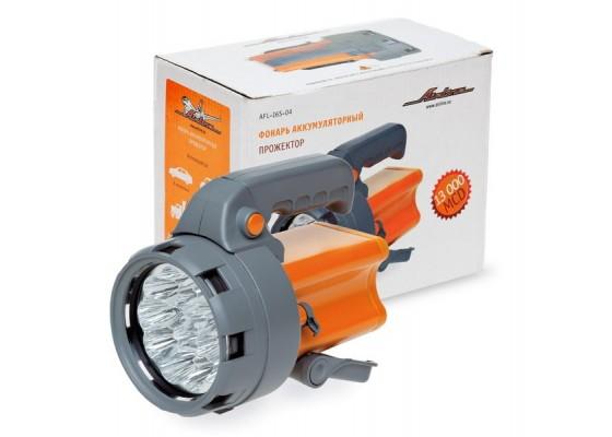 Фонарь аккум. прожектор LEDx16 с батареей 6В 2,4Ач, AFL-16S-04