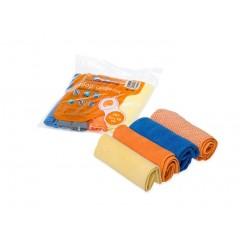 """Набор салфеток """"рулончики"""" из микрофибры (4шт., 30*30 см), AB-V-03"""