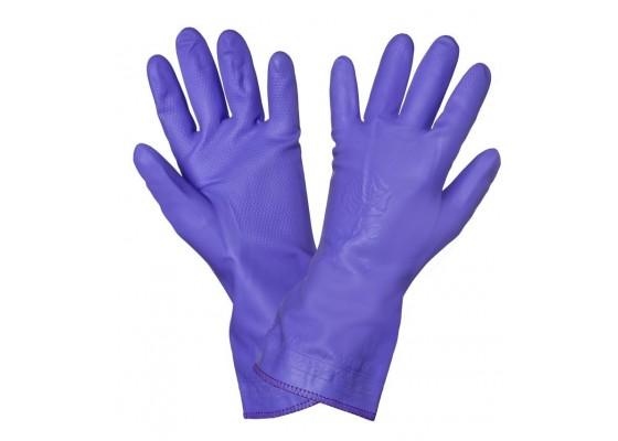 Перчатки ПВХ хозяйственные, AWG-HW-11