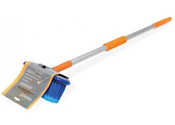 Швабра с щеткой 20 см и телескопической ручкой 130см, AB-H-03