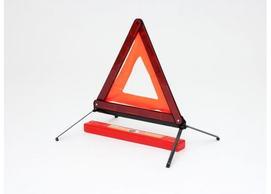 Знак аварийной остановки с металлическим основанием (ГОСТ Р), AT-03