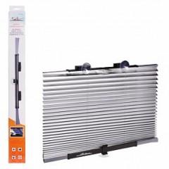 Шторка солнцезащитная на лобовое/заднее стекло, светоотражающая, раздвижная (65 см), ASPS-FB-01