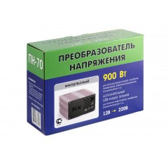 Преобразователь напряжения Орион ПН-70 (12-220В, 900 Вт, USB)