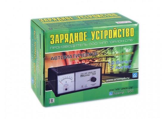 НПП Орион -265 (автомат,0-7А,12В,стрелочный амперм)