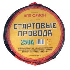 """Стартовые провода""""Орион"""" 250А, 2 м,хладост,в сумке"""
