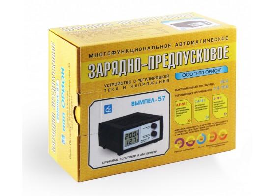 Зарядное устройство Вымпел-57 (автомат, 0-20А, 7,4-18В,  ЖК индикатор)