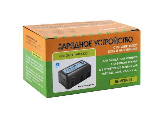 Вымпел-09 (автомат,0.2-1.2А,12-16В,для гелев.и кисл.АКБ с рег.ток+напр)