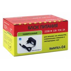 Вымпел-04 (блок питания,12В, 2А, разьем питания 5.5 мм)