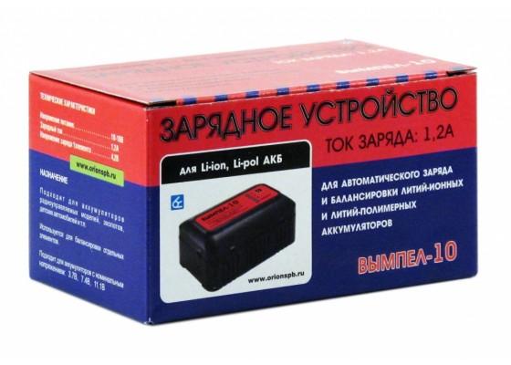 Вымпел-10 (автомат,1.2А, 4.2-12,6В, для Li-pol / Li-ion АКБ,балансир)