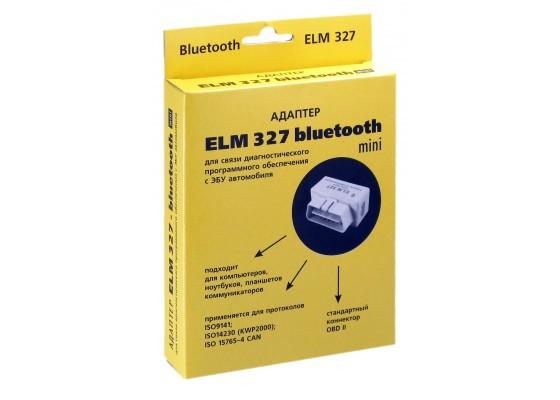 Адаптер ELM Bluetooth 327 мини (для диагност.авто)