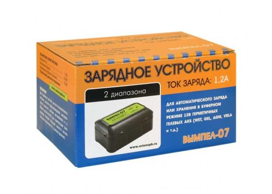 Вымпел-07 (автомат,1.2А,12В,для гелевых и кислот.АКБ)