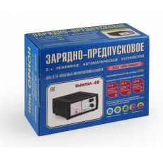 Зарядное устройство Вымпел-40 (автомат, 0-20А,12/24В, стрелочный амперметр)
