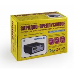 Зарядное устройство Вымпел-50 (автомат,0-15А, 5-19В, сегмент.светодиодный индикатор)