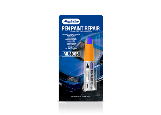 Подкрашивающий карандаш синий 10мл ML3005