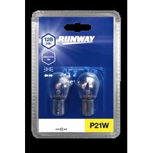 Лампа накаливания P21W 12В 21Вт  (2шт., блистер), RW-P21W-b