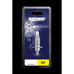 Лампа галогенная автомобильная H1 12В 55Вт (1шт, блистер), RW-H1-b