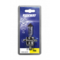 Лампа галогенная автомобильная H4 12В 60/55Вт (1шт, блистер), RW-H4-b