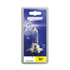 Лампа галогенная автомобильная H7 12В 55Вт (1шт. блистер), RW-H7-b